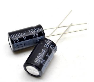 Конденсатор 1000 мкФ 25 В 105°С