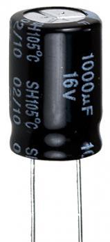 Конденсатор 1000 мкФ 16 В 105°С
